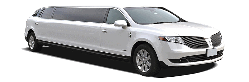 Licoln MKS limo white 8 passenger