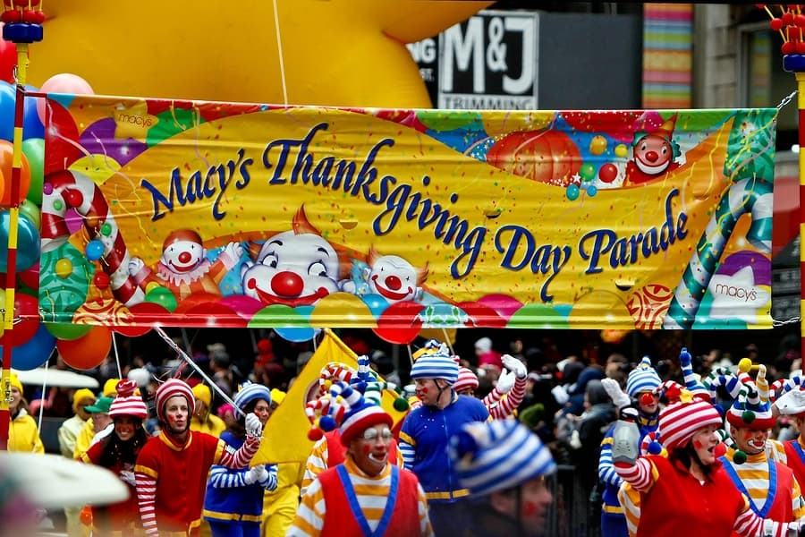 Macys thanksgiving day parade 1