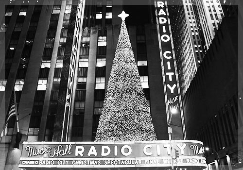 Snap of the holiday lights nyc