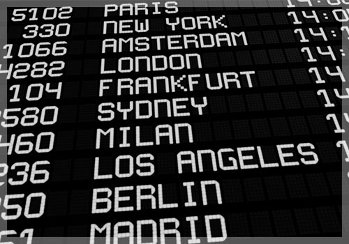 Services Airport Arrival Times