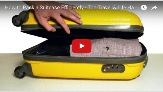 VIDEO HOW TO MASTER THE ART OF PACKING THE PERFECT SUITCASE FEATURED IMAGE