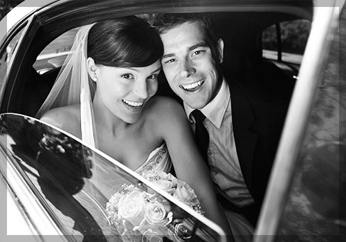 wedding transportation long island limousine service for a couple