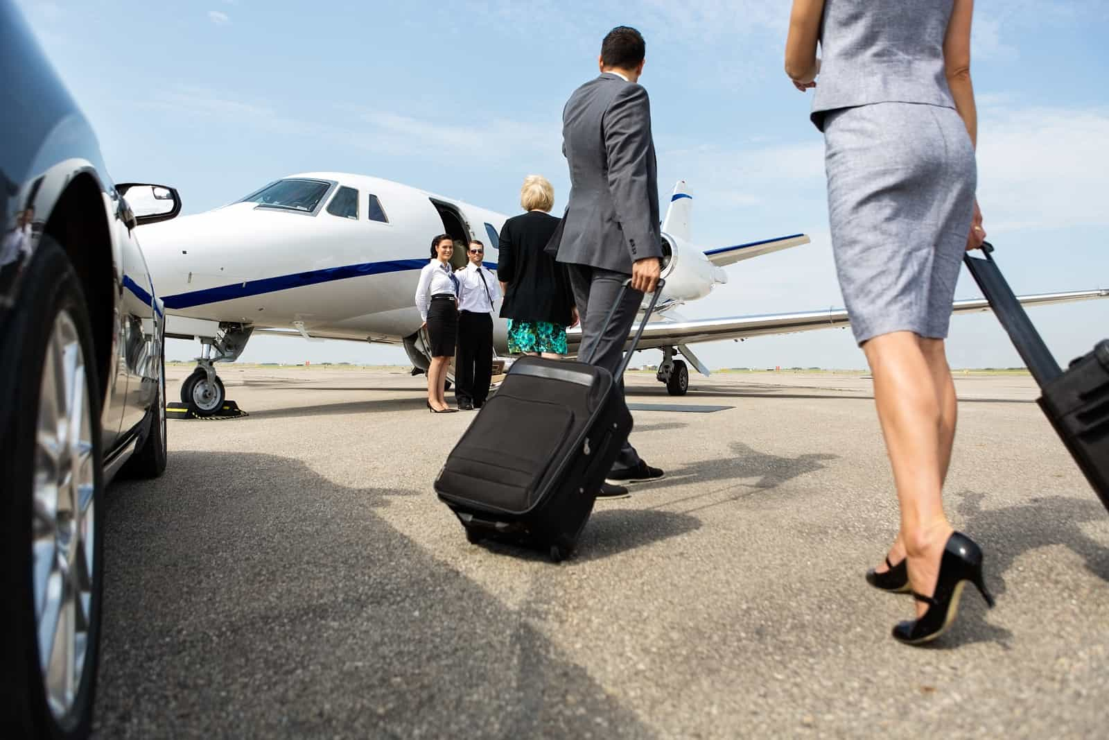 bigstock Business partners with luggage 66497077