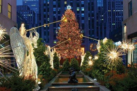 rockefeller center christmas tree ny